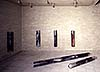 <b>Test-Tubes IG-Farben, 1991</b><br>     Oil color, Guttagliss, Aluminum<br>     Installation Galerie Schmela<br>     Photo: Norbert Faehling<br>     © VG Bild